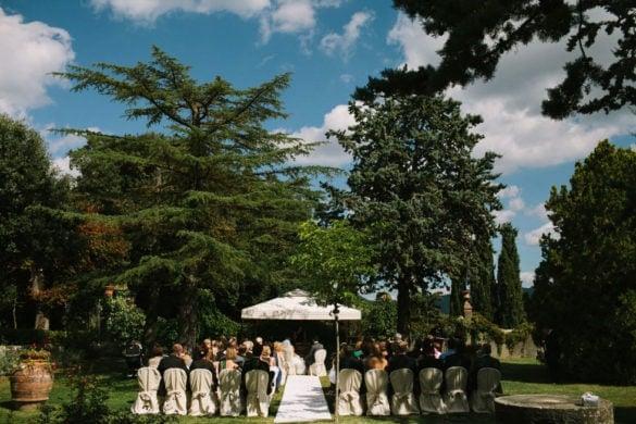 Trauzeremonie Chianti Hochzeitsvilla Toskana
