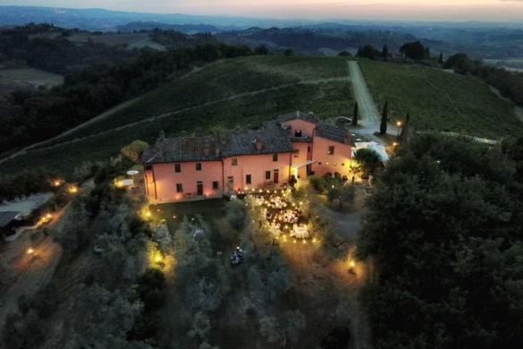 Wedding venue agriturismo in Tuscany