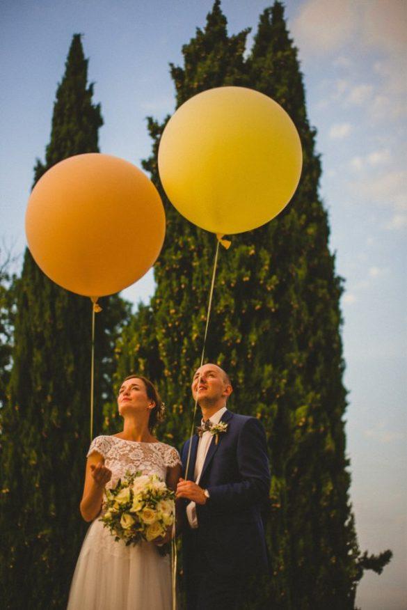 Intime kirchliche Hochzeit im herzen der Unberührten Chianti Region in der Toskana