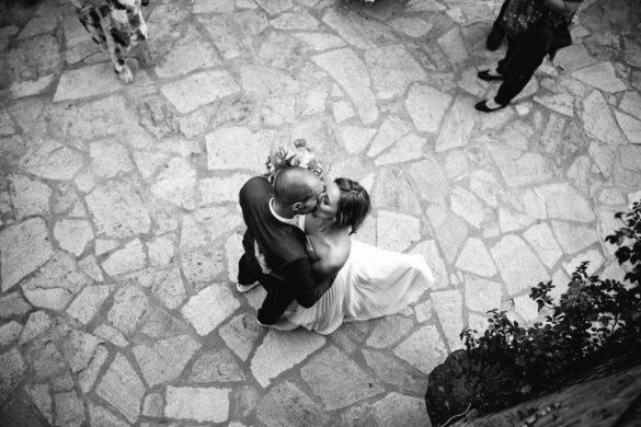 Hochzeitsreportage mit Ehepartnern in der Casentino-Toskana