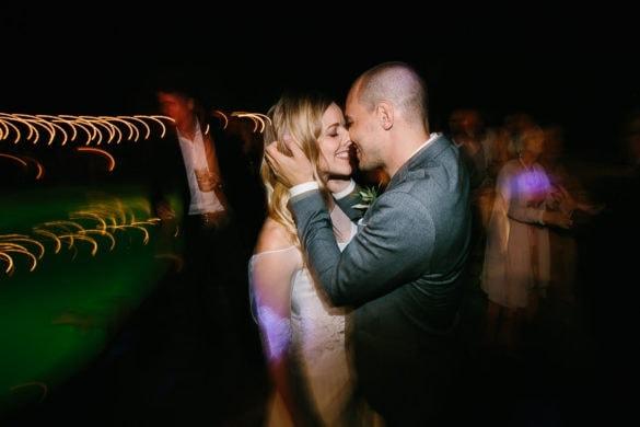 Hochzeitsfeier im Freien Italien