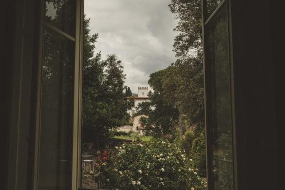 Detail Garten 16. Jahrhundert Hochzeitsvilla Lucca