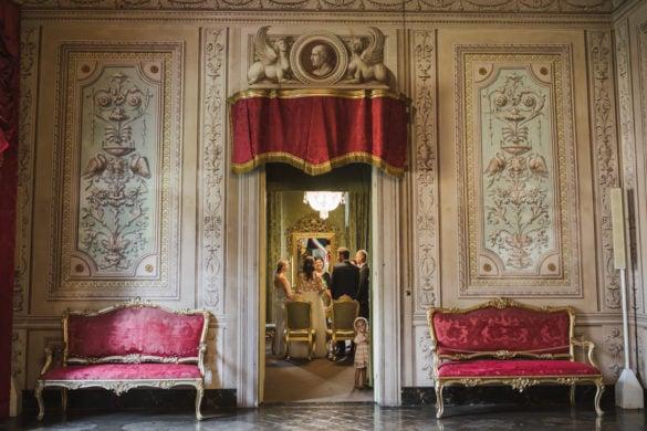 detail Palazzo Orsetti Lucca Toskana Hochzeit