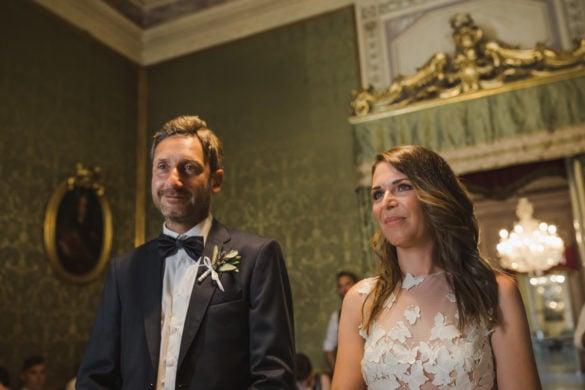 Brautpaar saletta Verde Palazzo Orsetti Lucca