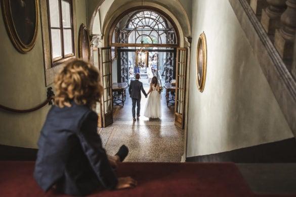 Braut und Bräutigam Palazzo Orsetti Lucca