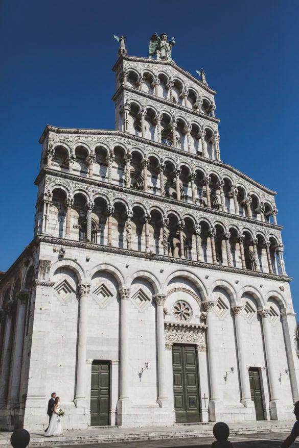 Brautpaar für die Kirche in Lucca