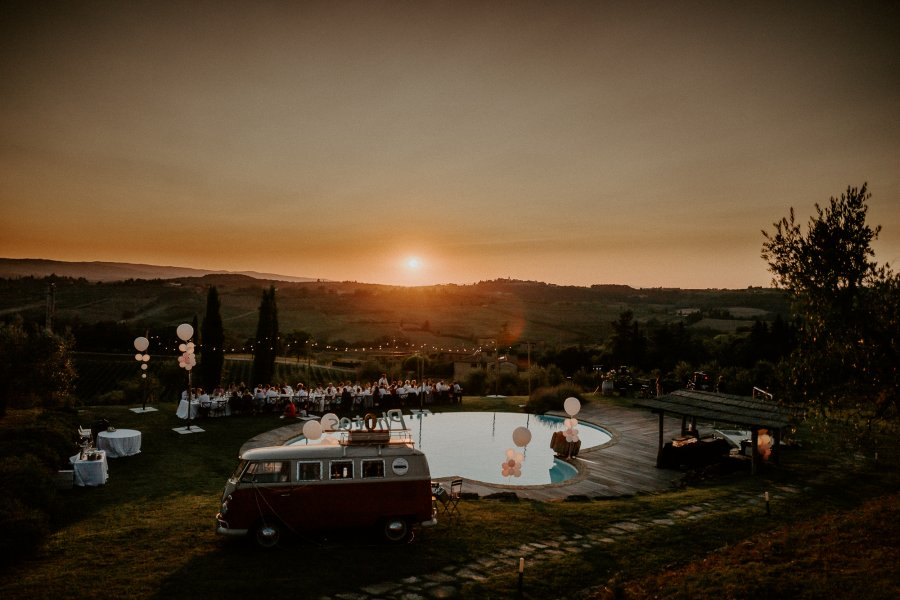 Gorgeous country chic wedding location Tuscany